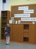 """View the album SZKOLNY KONKURS RECYTATORSKI ,,KONOPNIADA"""""""