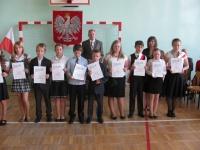 View the album Uroczyste zakończenie Roku szkolnego 2011/2012