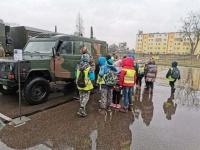 View the album Wyjazd uczniów klas I-III do Jednostki Wojskowej w Brodnicy